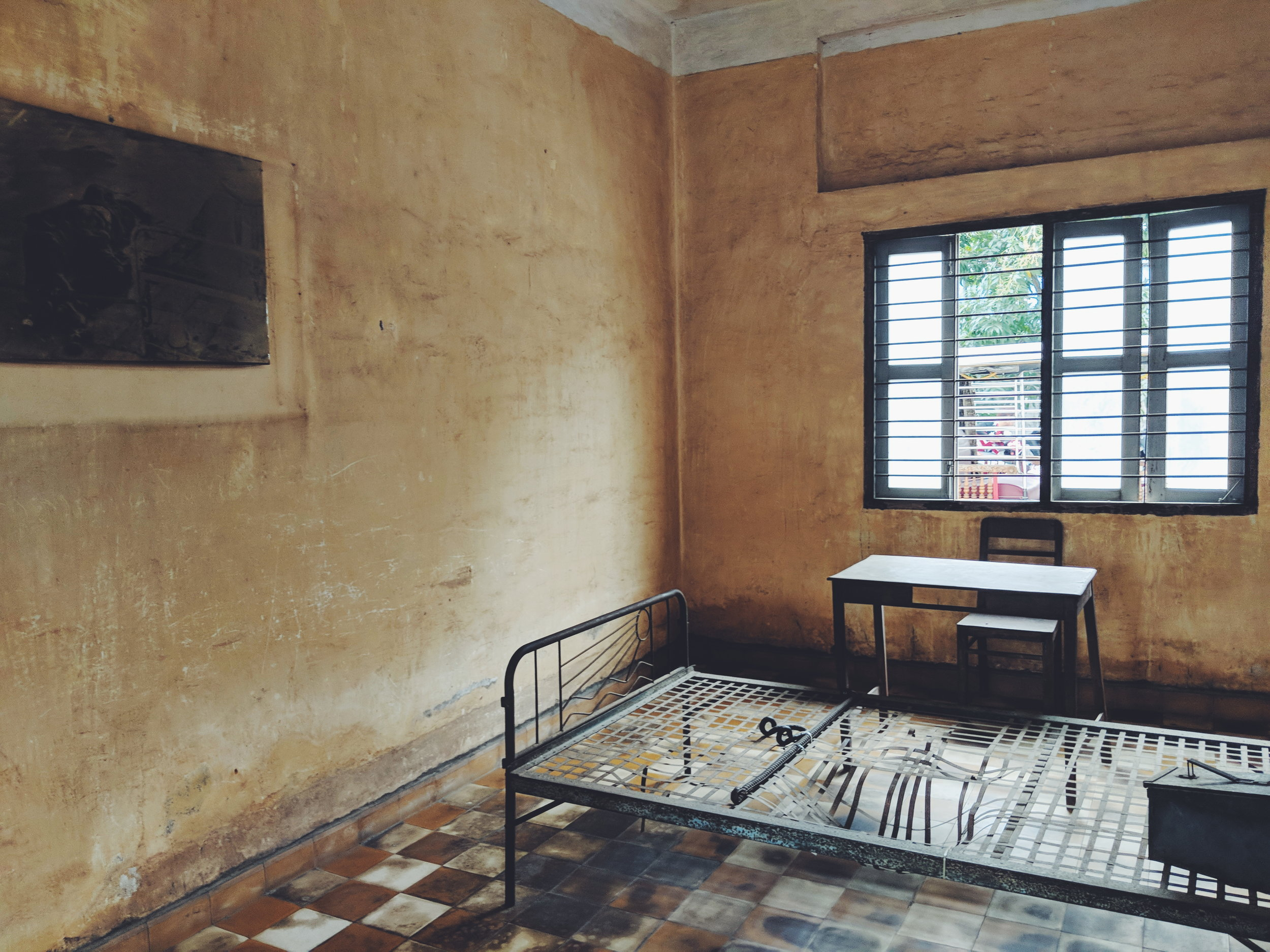 S21 Prison Cell