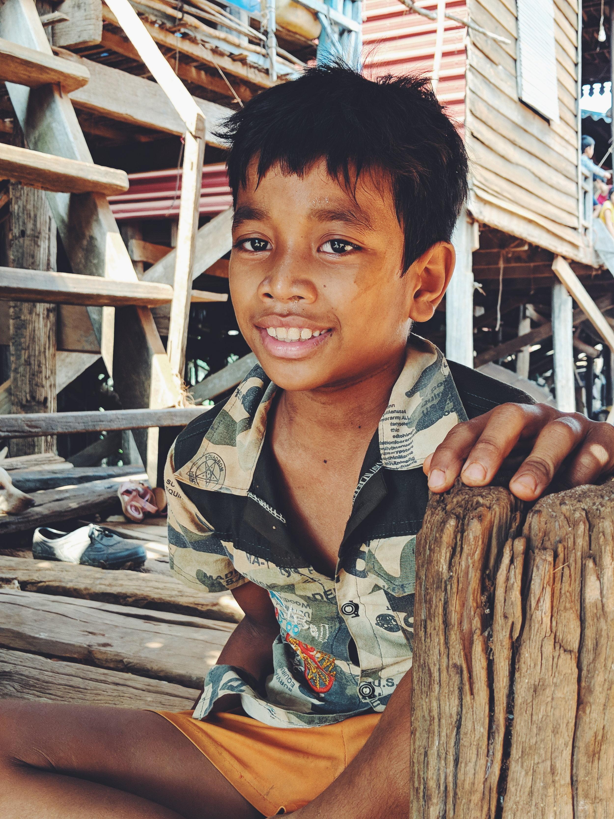 Tonle Sap Fisherkid