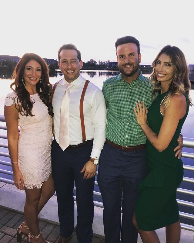 What a friggin weekend.. good friends in town, date night with my babe, lovely wedding celebrating the Vaughns, a @buffalobills win 🙌🏼 and a 10 hour US open final🎾🎾