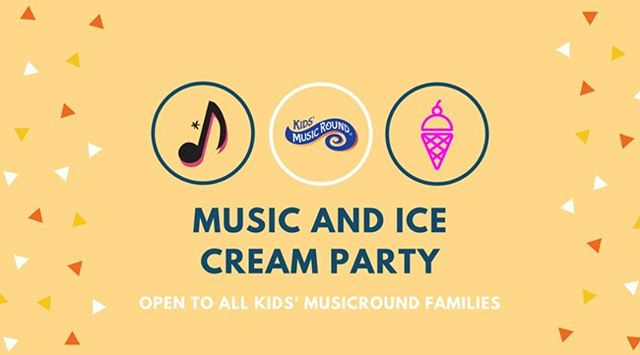Join us tomorrow morning! Free ice cream vouchers and a raffle for a $50 gift certificate (only if you bring a friend)! Must register in advance - message us! See you there 🎼🍦 #kidsmusicround #freefamilyfun #njmom #southjerseymom #music #movement #icecream