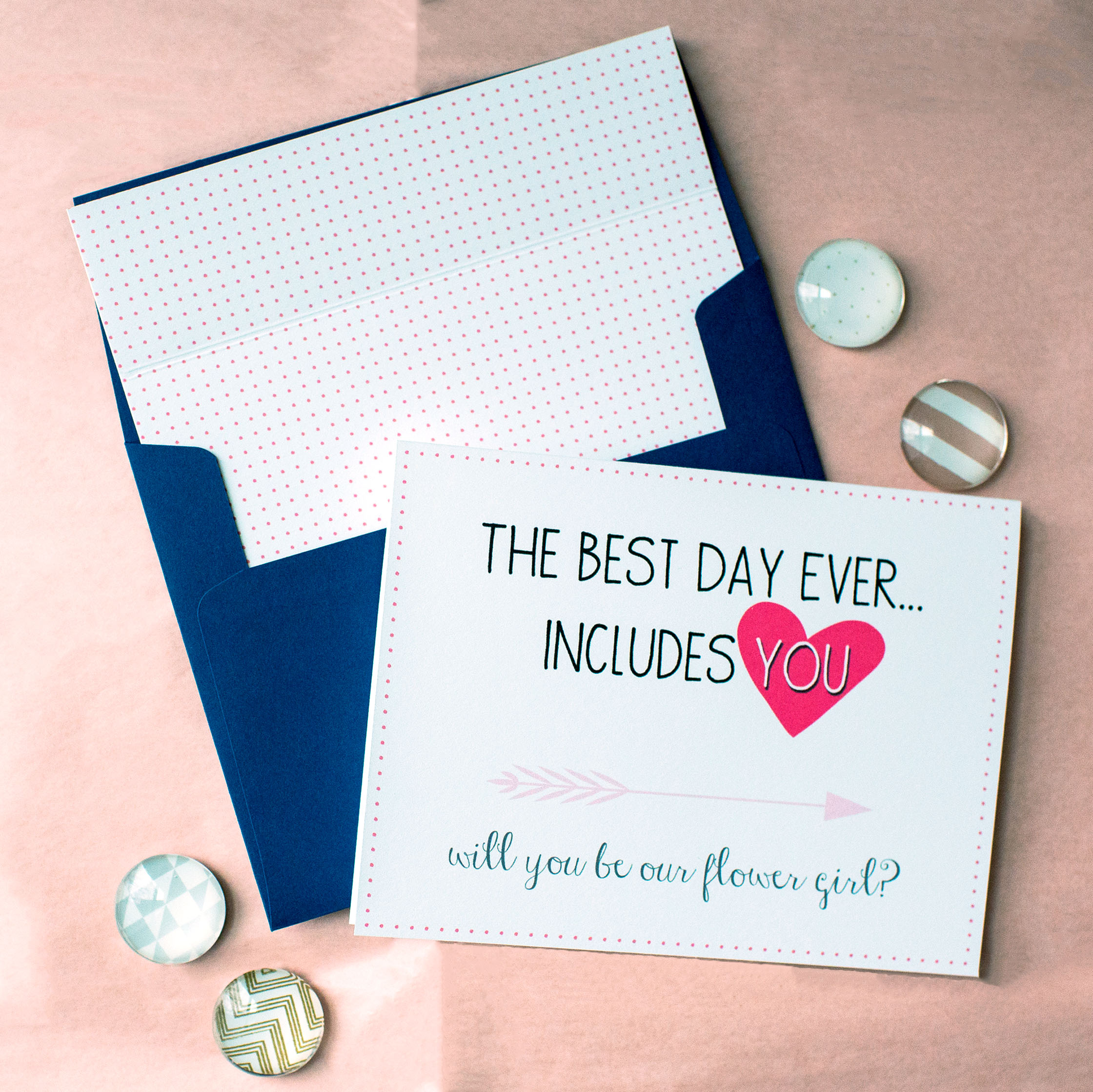 The Best Day Ever Includes You Card