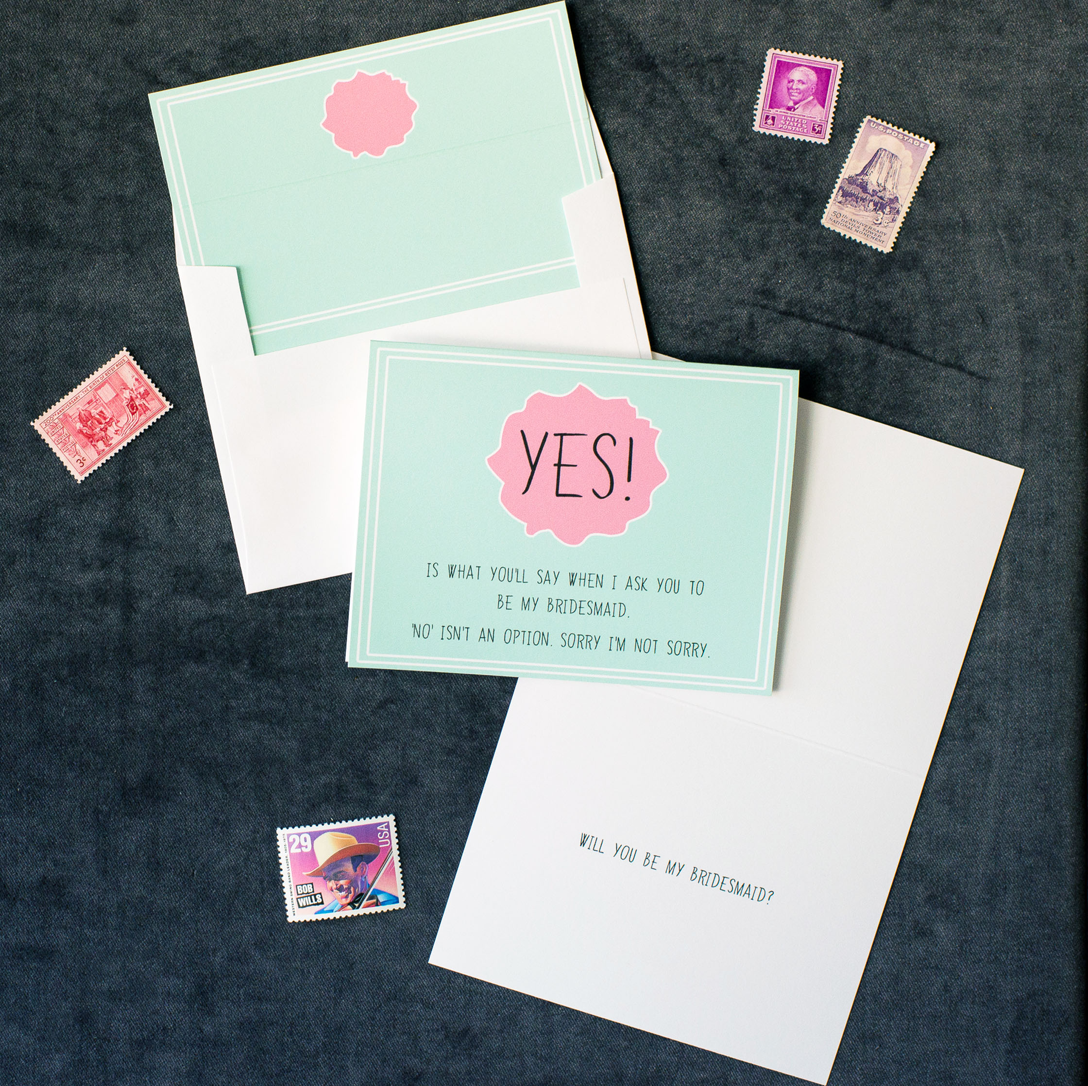 """Yes! Is What You'll Say..."" Card"
