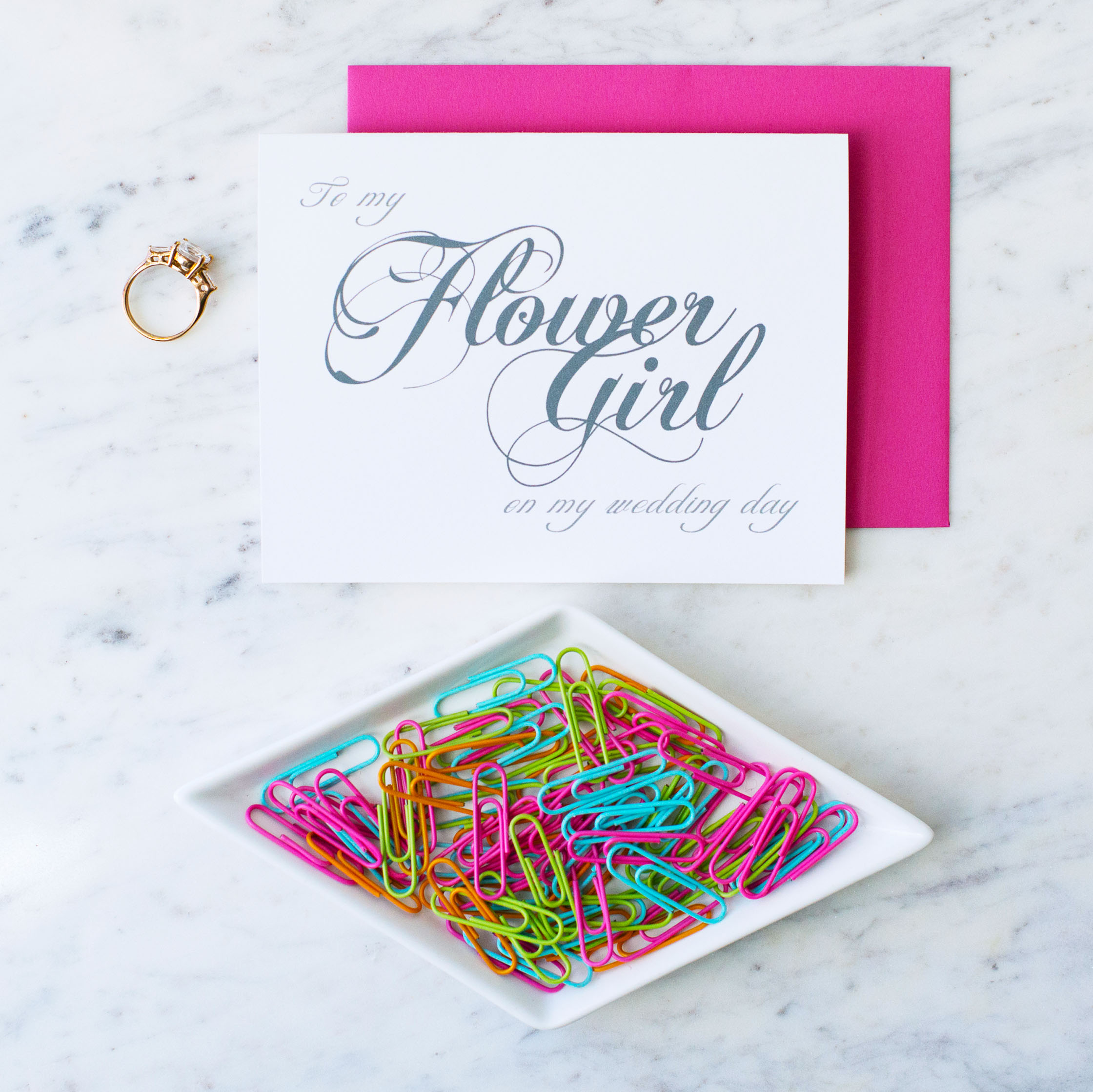 Squarespace Name and Note.jpgEnvelope Colors.jpg Squarespace Main Photo.jpgSquarespace Name and Note.jpgEnvelope Colors.jpg To My Flower Girl On My Wedding Day Card
