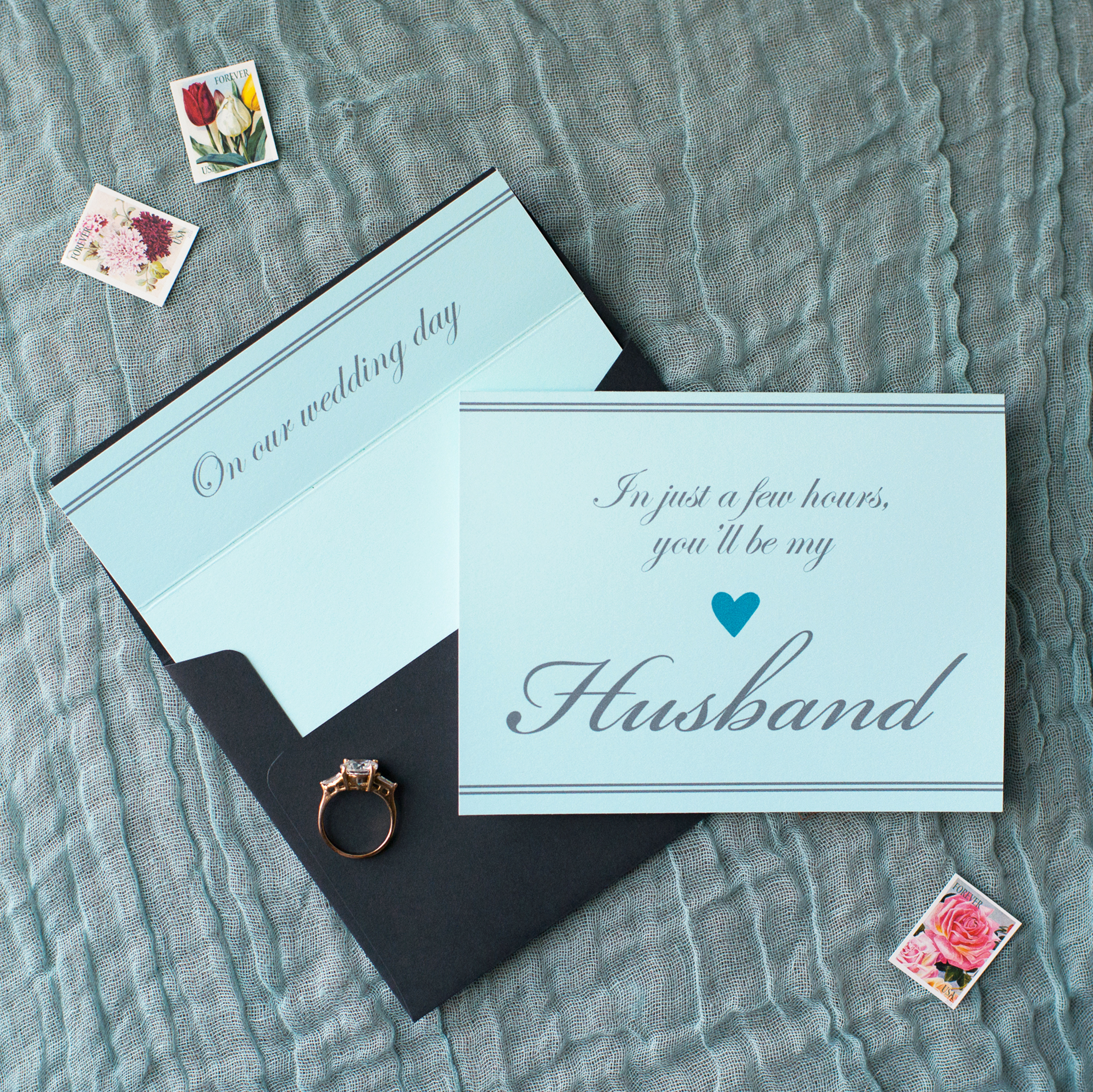 In Just a Few Hours You'll Be My Husband Card