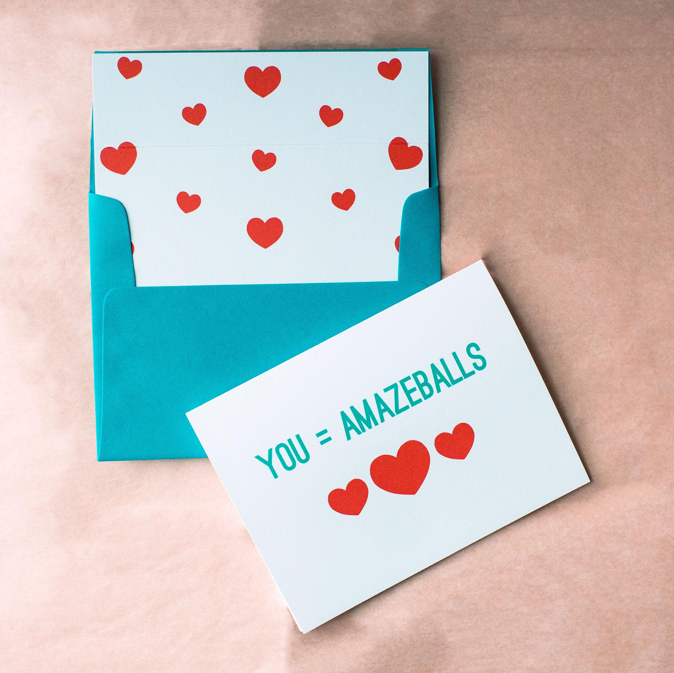 You're Amazeballs Card