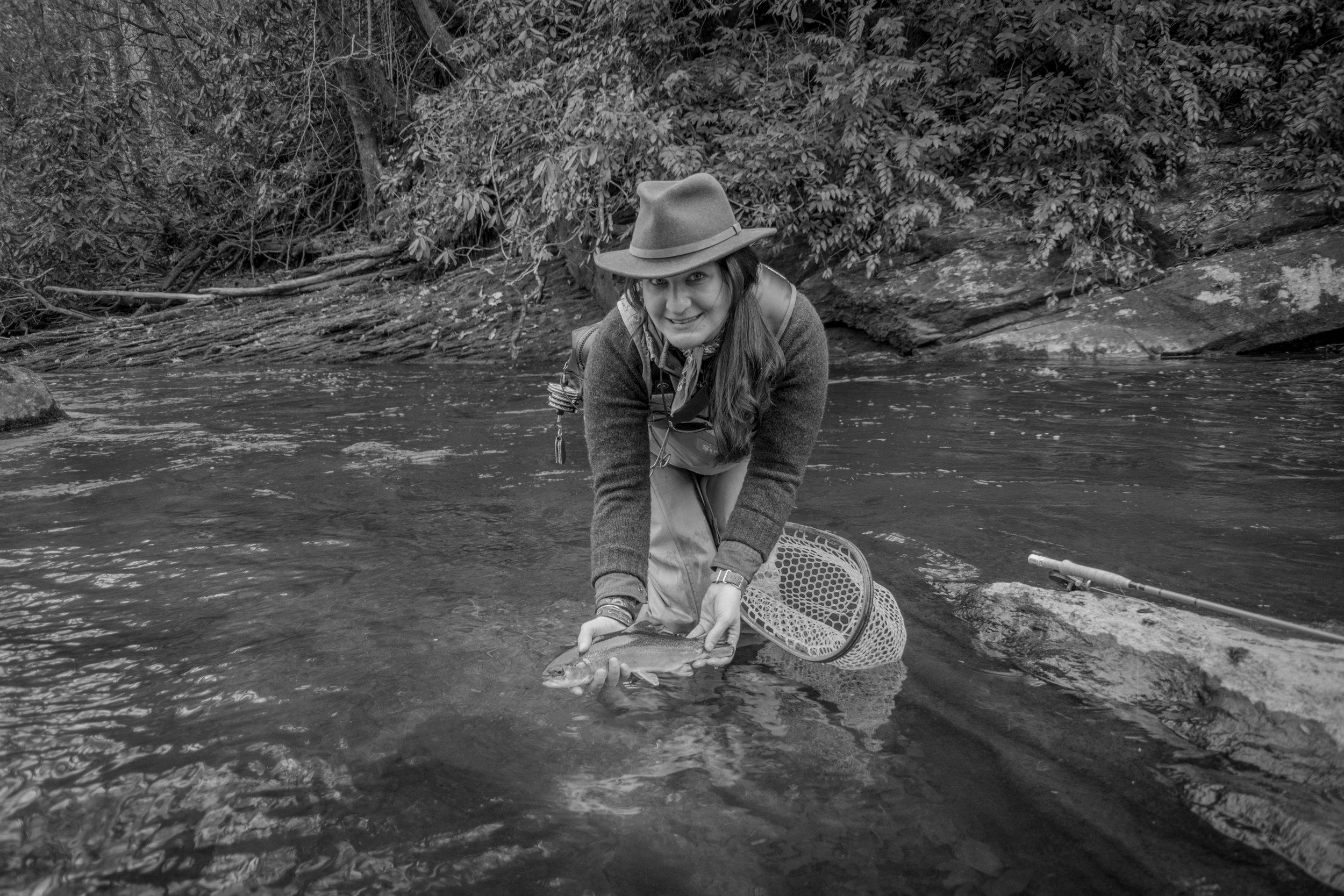Jillian Schuller Fly Fishing