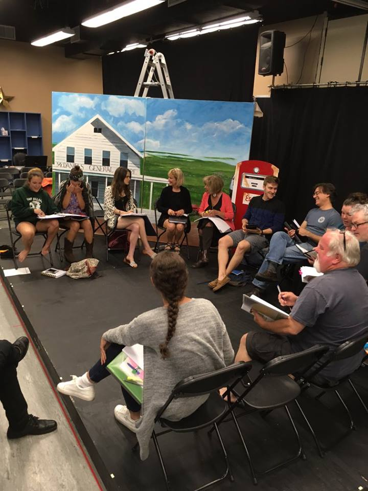 Table Read for The White Oak of Johnston