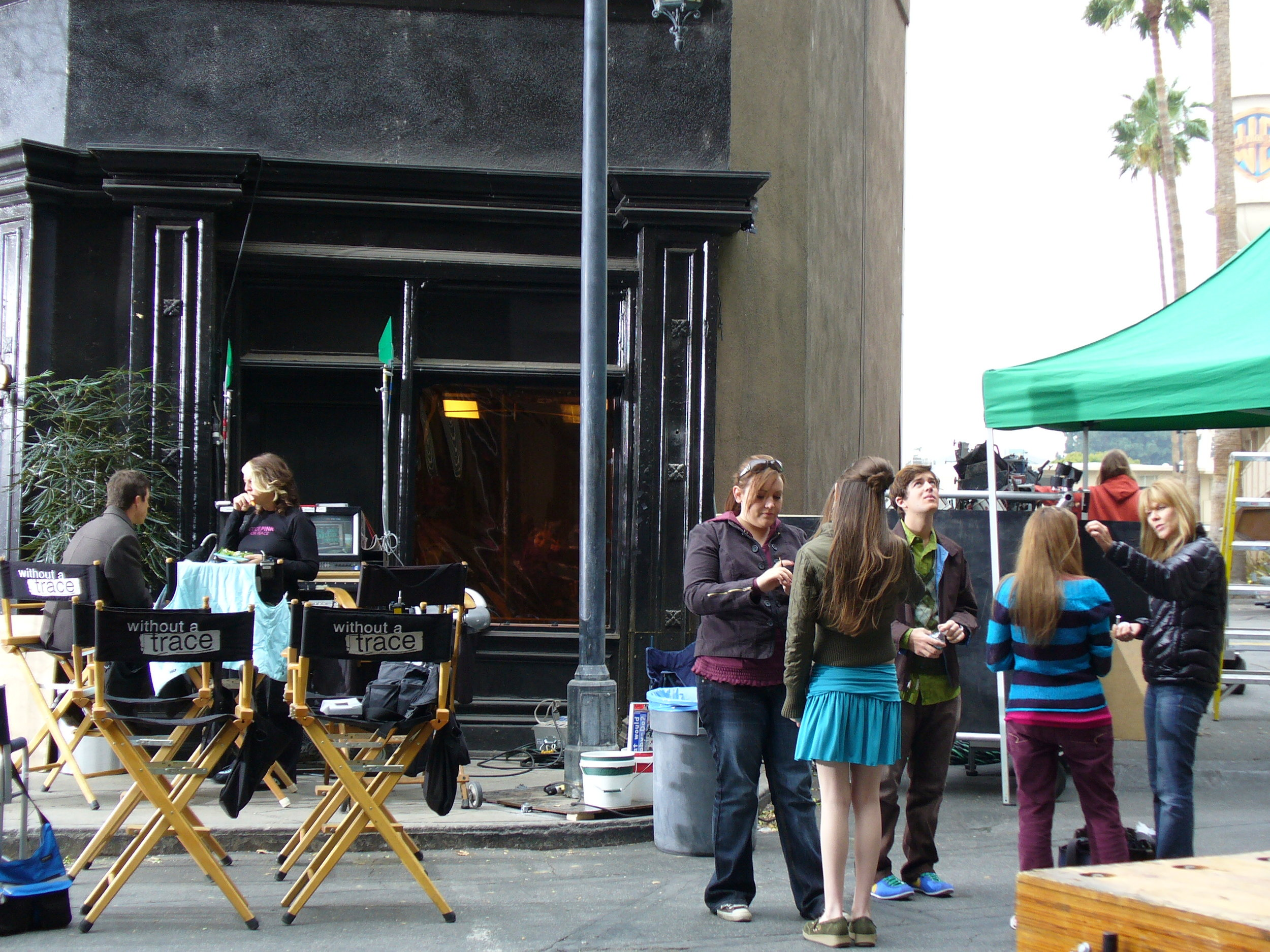 On the set of Without A Trace