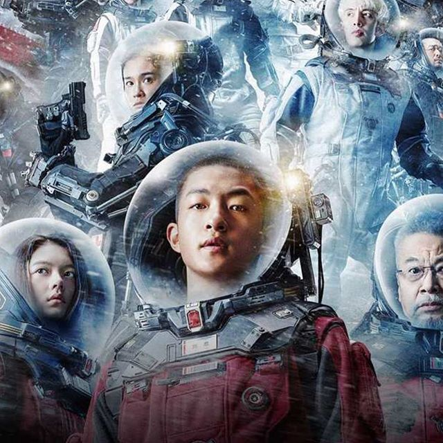 """Netflix just released 700 billion dollar box office smash, """"The Wandering Earth"""" by the prodigious Liu Ciuxin. Have you streamed it yet? We'd love to hear your thoughts! Comment below 👇🏽👇🏿👇🏻 #thewanderingearth #netflix #liuciuxin #scifibooks #scifi #sciencefiction #blockbuster #newrelease #china"""
