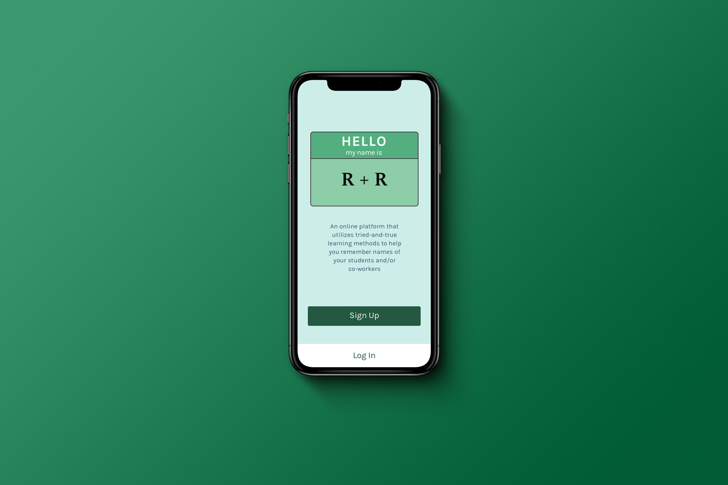 R + R Name Learning App