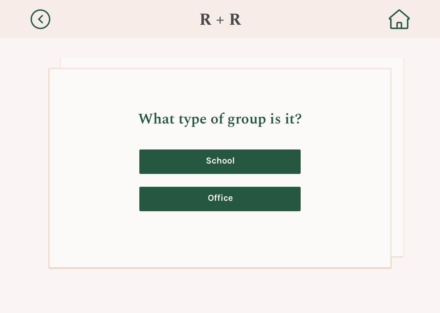 Add Group / Type