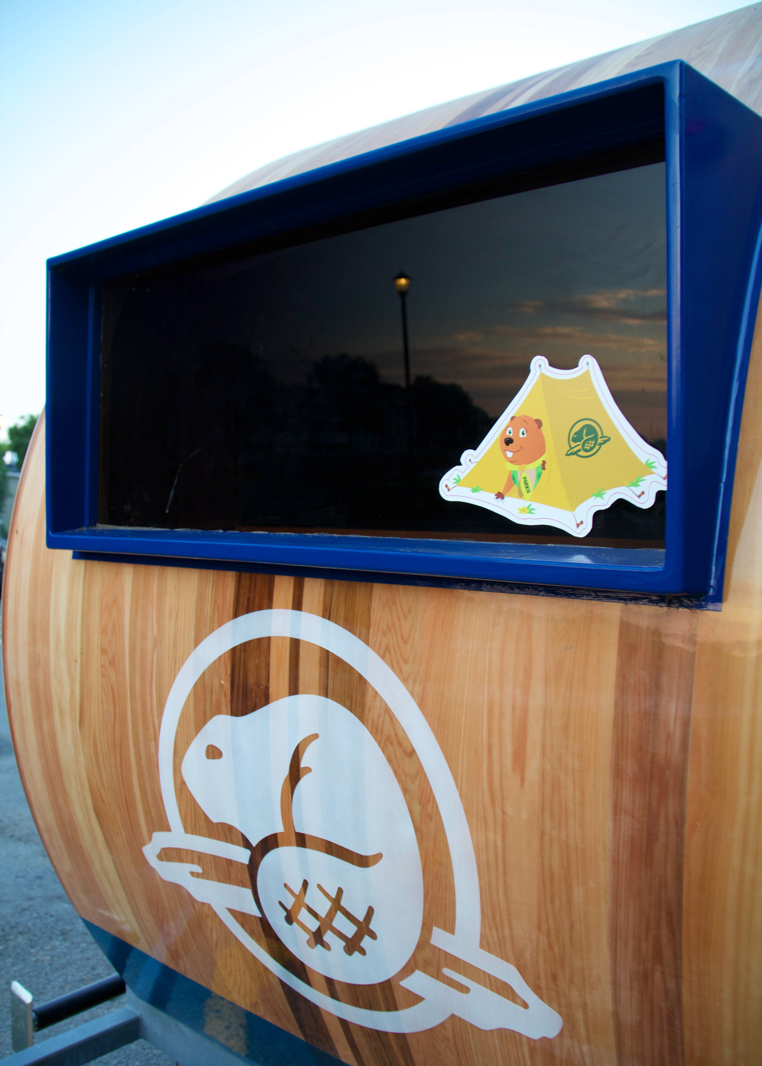 PARKA Parka, Parks Canada mascot, will appear discretely in various place on the Kiosk.