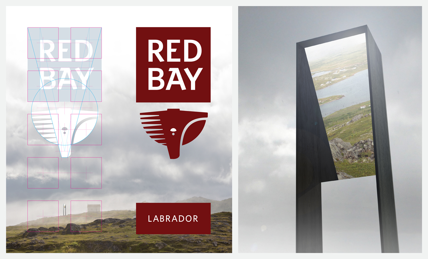 THE RED BAY BRAND In Red Bay, the brand and the built environment are inextricably linked.