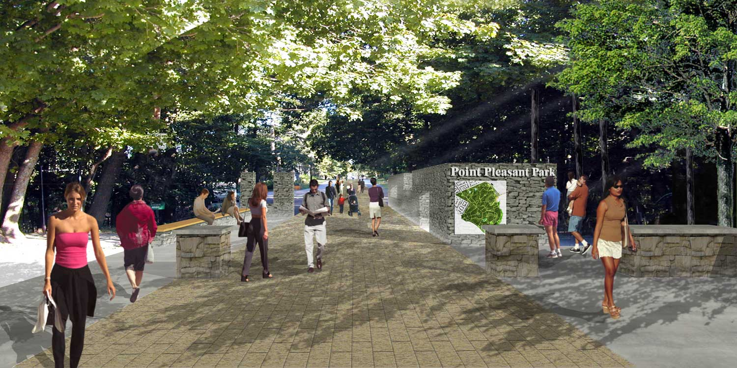 PROPOSED IMPROVEMENTS Revamped Upper Parking lot to Cambridge Drive and new signage.