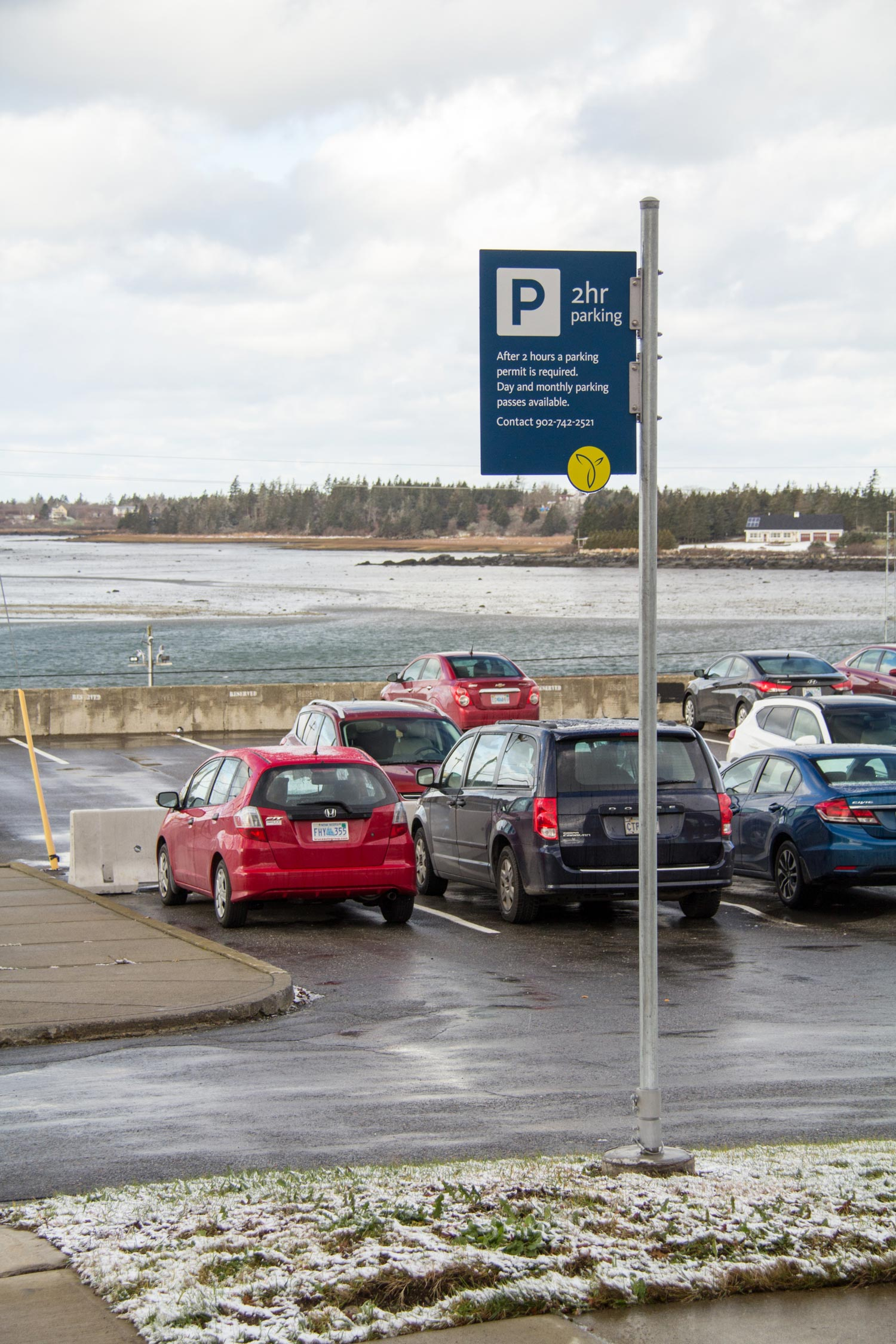 FROM CAR TO FOOT The vehicular system is aimed at getting visitors to an appropriate parking lot where they will also find information kiosks placed close by.