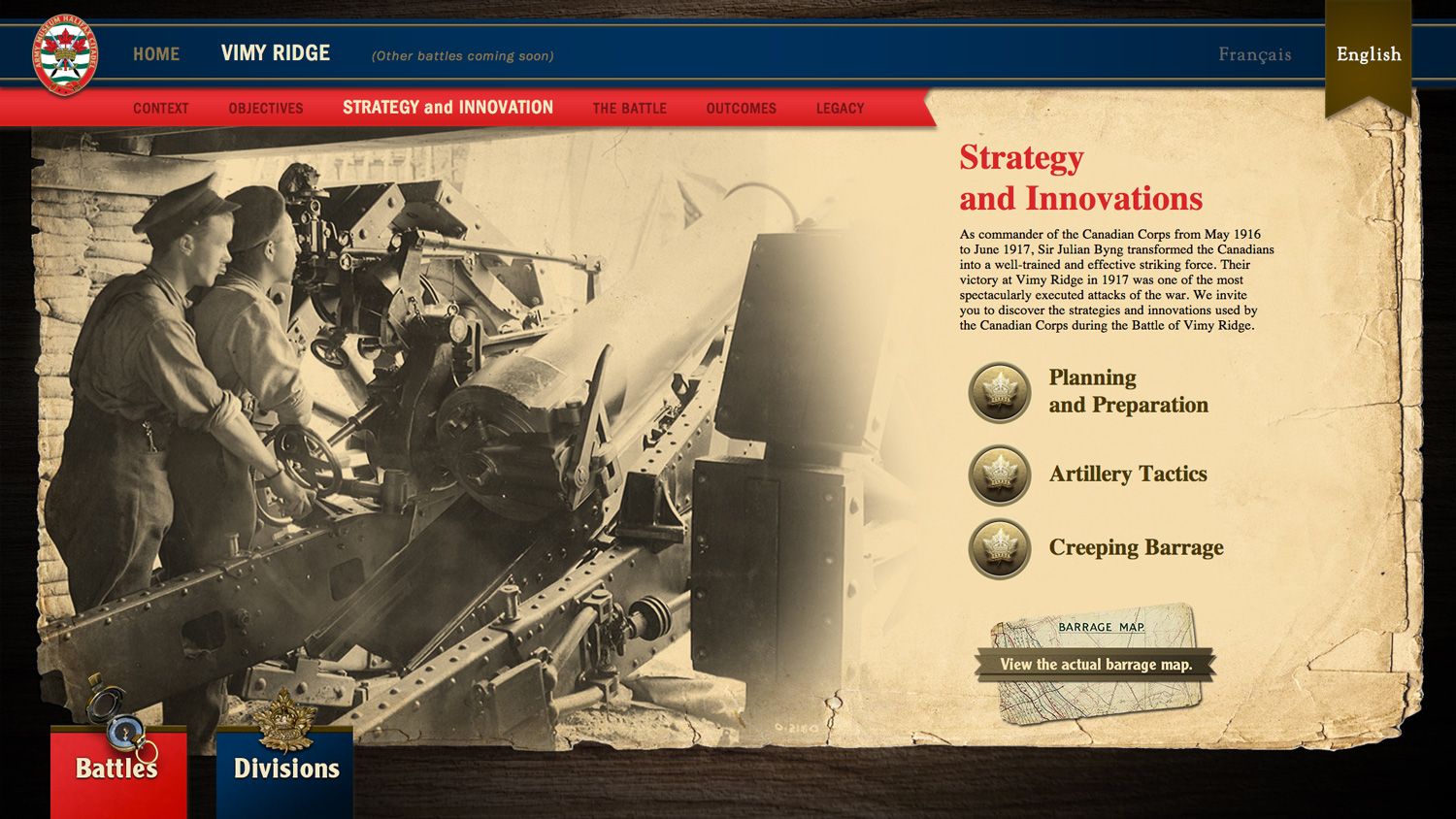 INTERACTIVE The popular conception of WWI is of battles that achieved little, but while the front lines may not have moved dramatically, each battle had innovations and outcomes that shaped the course of the war.