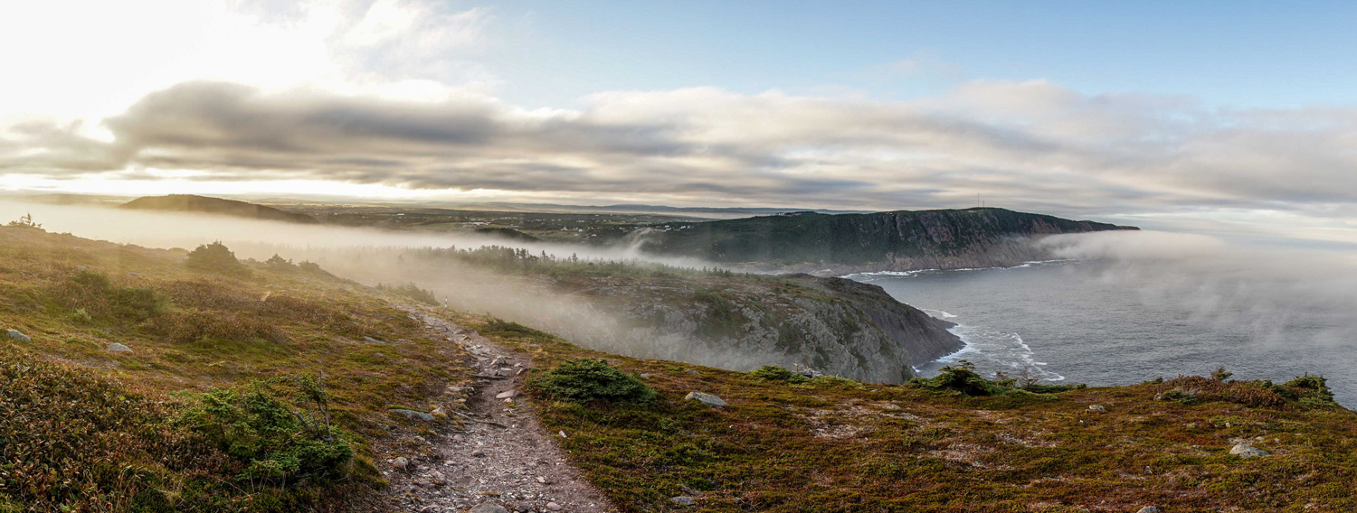The trail offers hikers access to some of the most breathtaking landscapes in eastern Newfoundland.