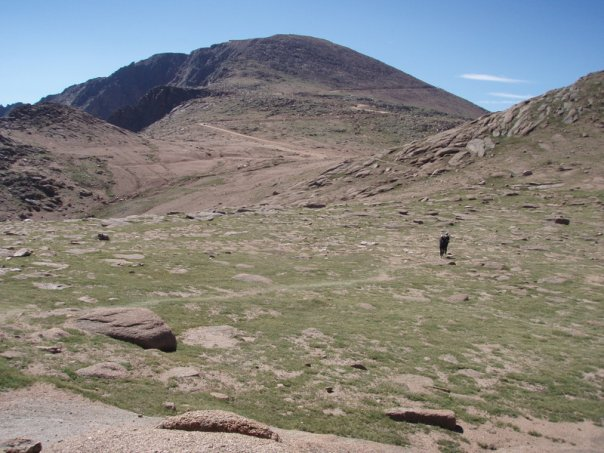 Much of the rest of the ascent takes you through rocky tundra like this spot. Follow the cairns!