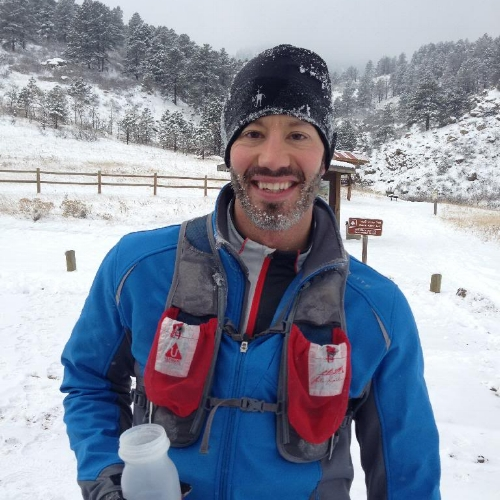 """Josh """"Frosty Beard"""" is looking strong and swift."""