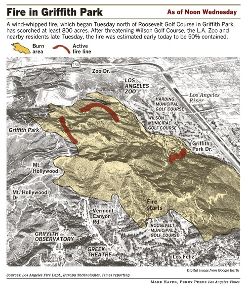 Click on the map for a clearer view of this LA Times-generated graphic.  Illustration by Mark Hafer & Perry Perez.