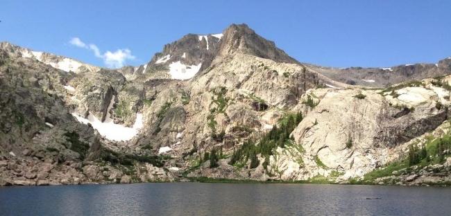 Bluebird Lake (10,978 feet)