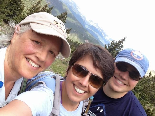 Happy hikers.