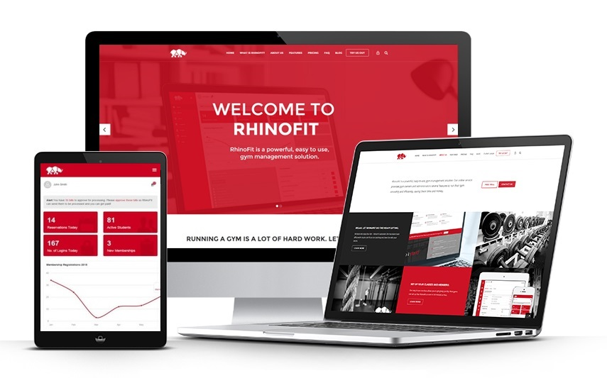 Rhino Software - Rhino Software solutions RhinoFit and Rhino Nonprofit offer various business types one time and recurring ACH payments as well as many operations management tools.
