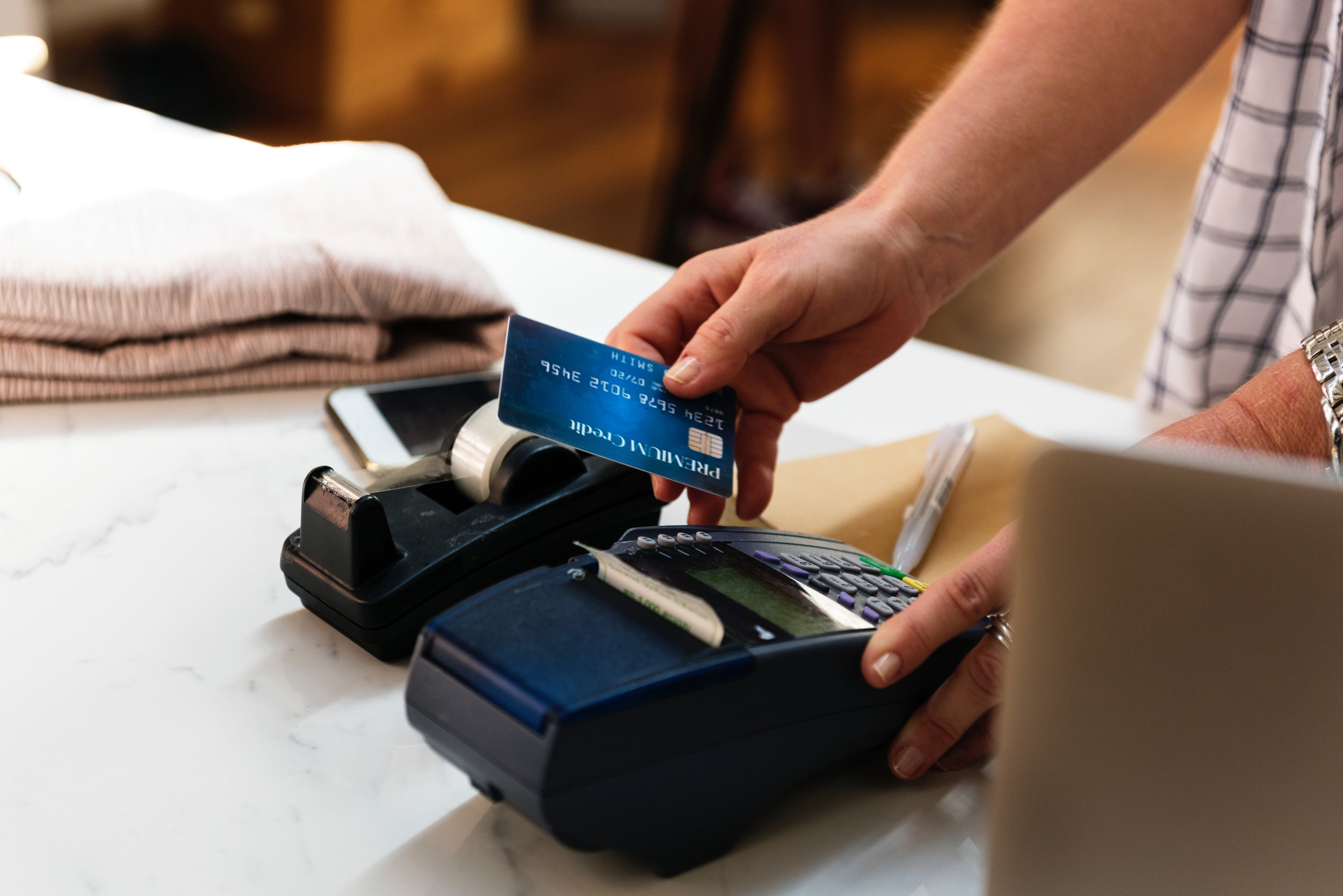 In-Person Transactions