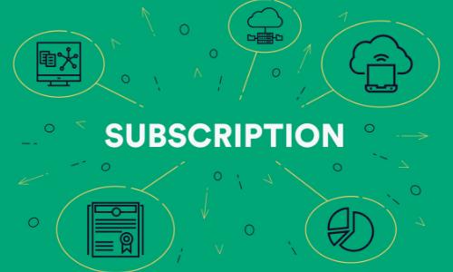 Subscription Economy