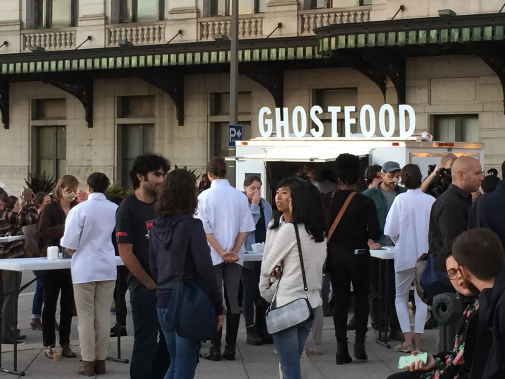 Ghost Food with Miriam Simun and The Contemporary, 2015 (instructor Deana Haggag and staff)