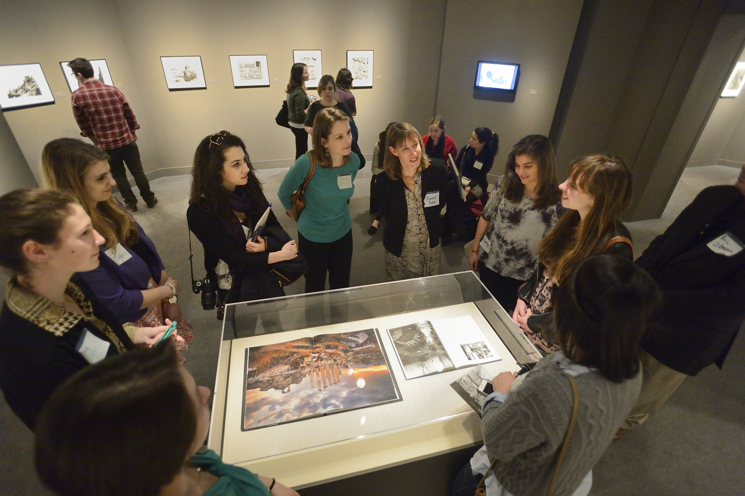 In Focus: Ara Güler's Anatolia, curated by students for the Smithsonian's Arthur M. Sackler Gallery, 2014 (instructor Nancy Micklewright)