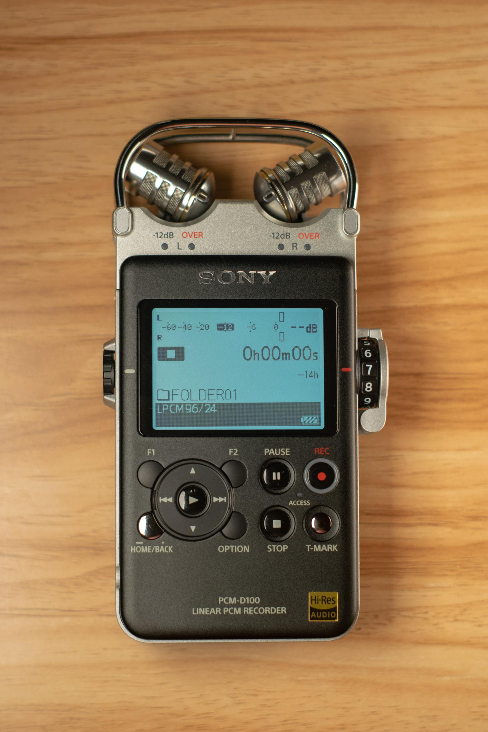 Sony PCM-D100-1 Above View On Portrait Closer.jpg