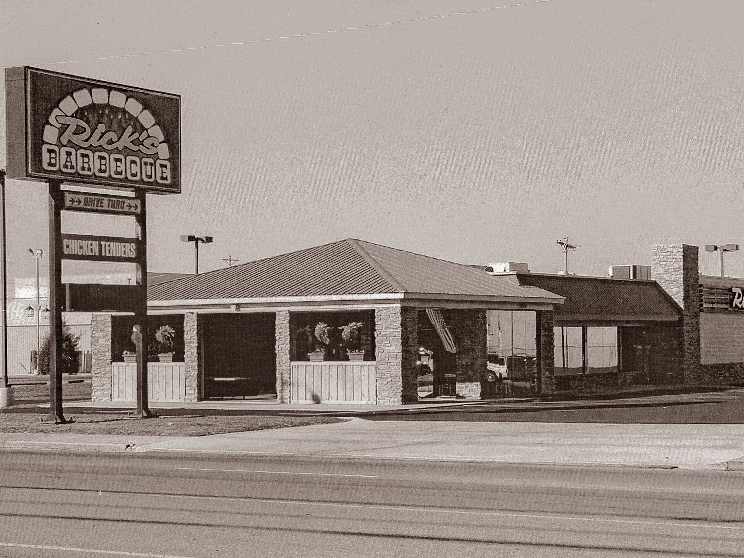2006 - THE CURRENT RICK'S BARBECUE IN LAWRENCEBURG IS LOCATED AT 1507 NORTH LOCUST AVENUE