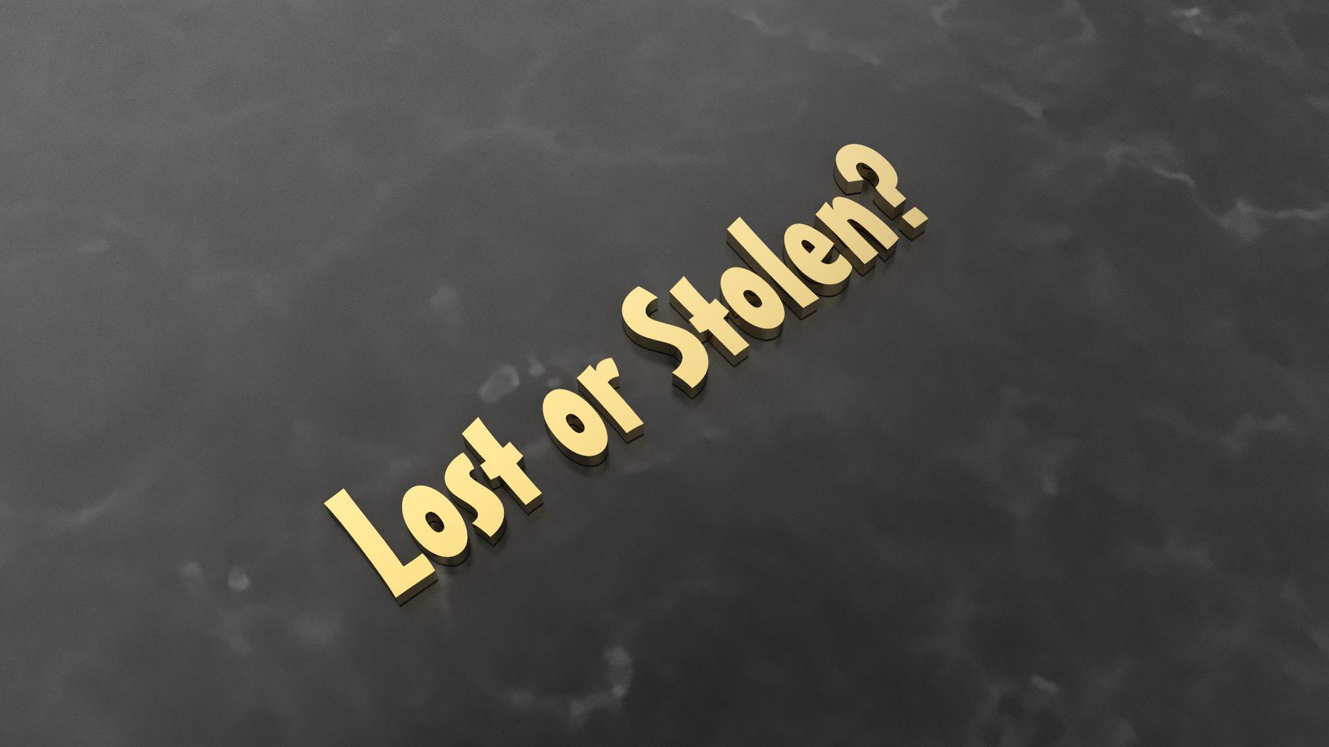 Replacement Estimates - If a piece is lost or stolen we estimate the cost of replacement for the customer.Starting at $50.