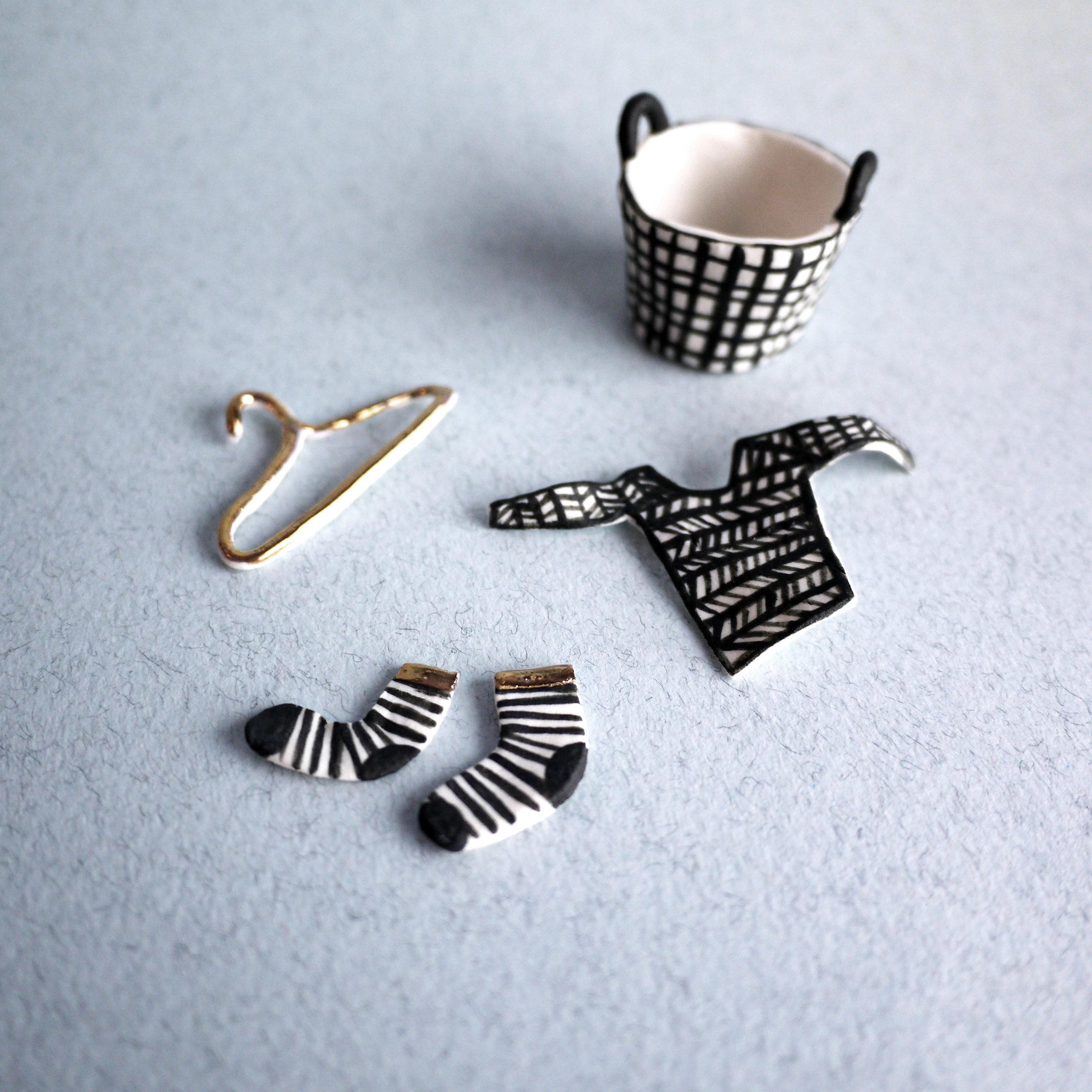 Wee Socks. 2015. Porcelain & Gold Lustre copy.jpg