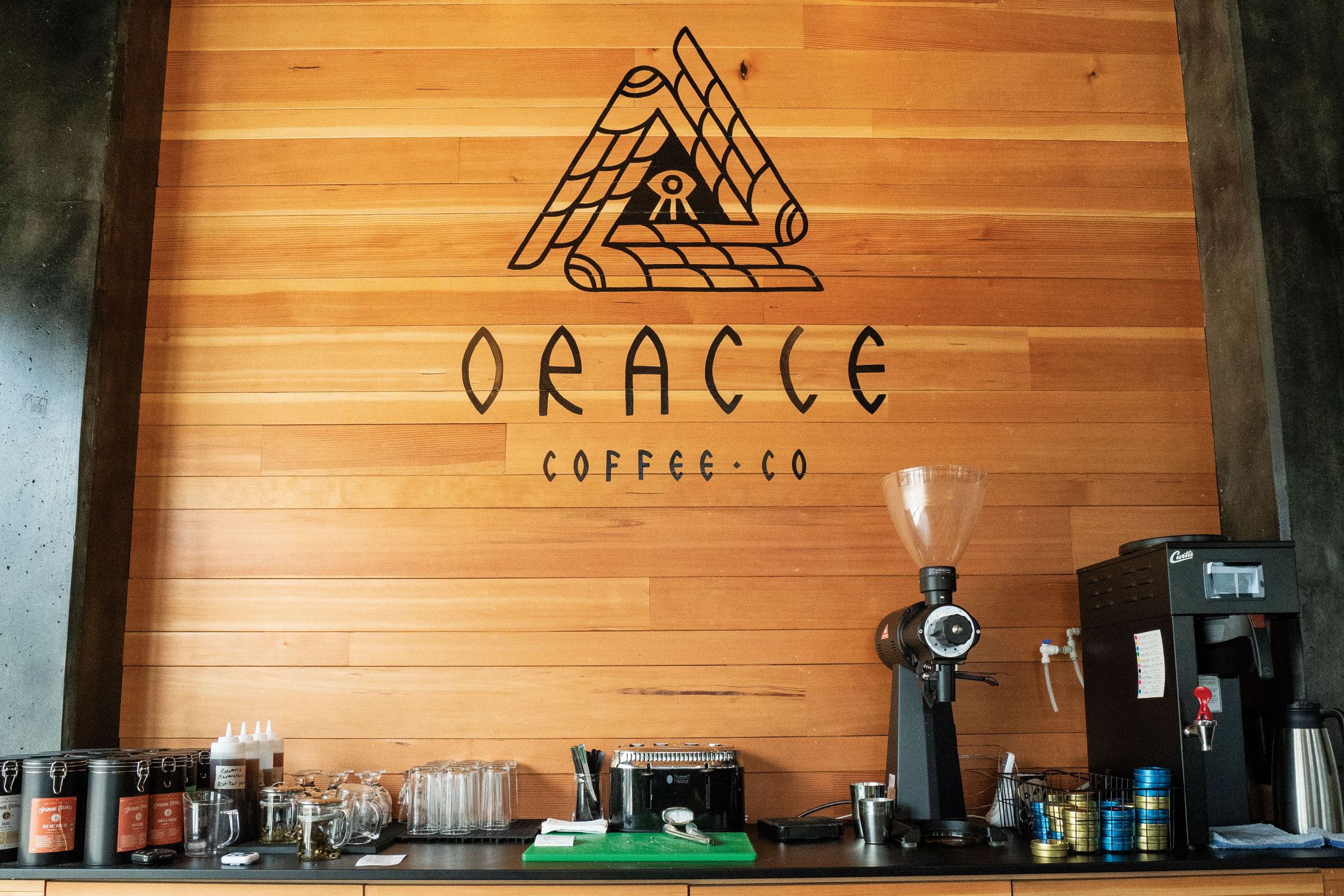 See The Future At Oracle - In an era when coffeehouses are more flash than substance, finding one that treats coffee with respect can be difficult.
