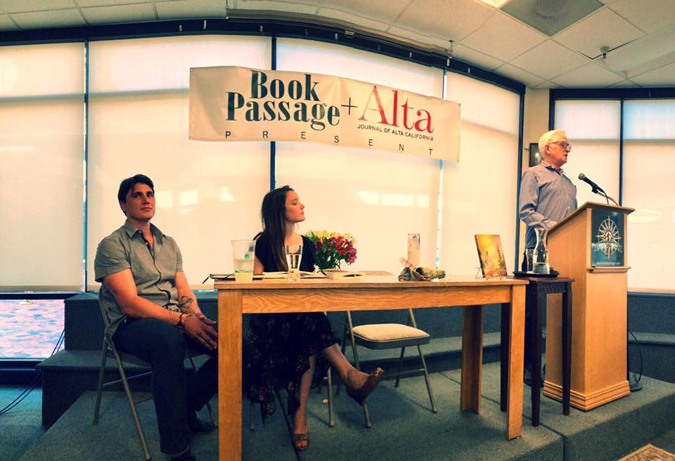 Book launch at Book Passage, Corte Madera, July 2018