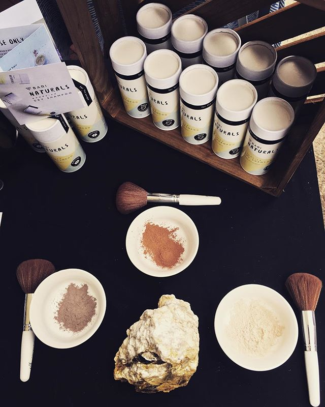 Dry shampoo is for you! Come try it out this weekend at Asheville's downtown @leaf_community_arts festival! Friday and Saturday at Pack Square..