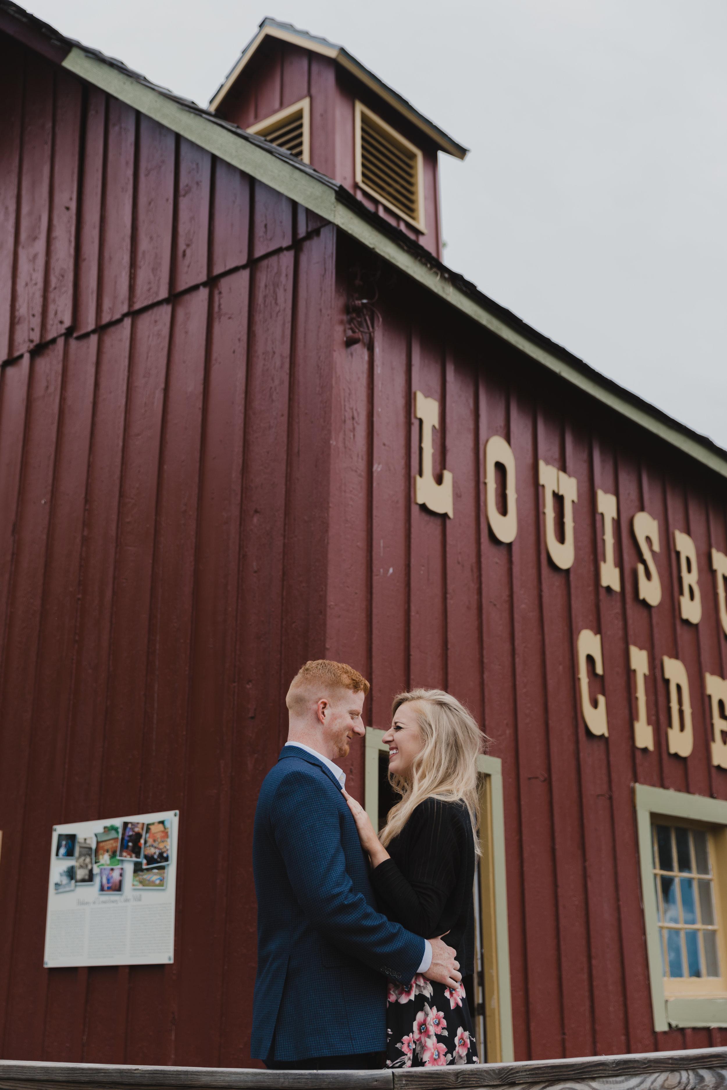 Tyler&KarolineLouisburgCiderMillEngagementSession-7.jpg