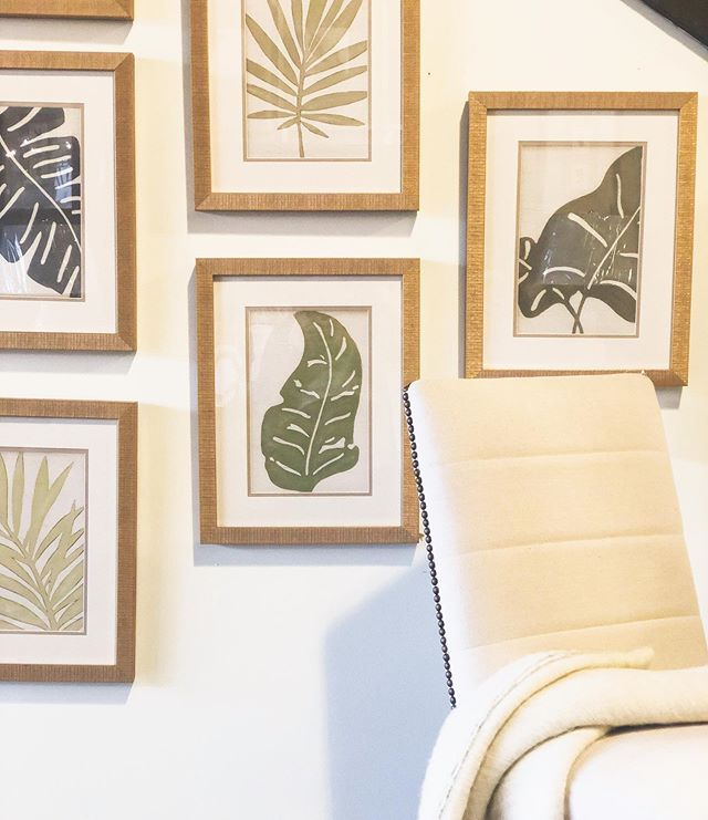 """Summertime is one month away! (Even though it's 67° outside 🙃) Prepare your home for a little sunshine and happier days with the cutest botanical prints! With our """"approval"""" policy, you're able to take out in stock items to try them in your home without having to commit to a purchase! . . . #marketonnational #shoplocalky #shopsmall #interiors #design #designer #furniture #accessories #decor #styled #stylish #lifestyledesign #lifestyle #kentucky #kentuckyforkentucky #kentuckykicksass #lexington #lex #sharethelex #plants #paintings #art #artwork"""