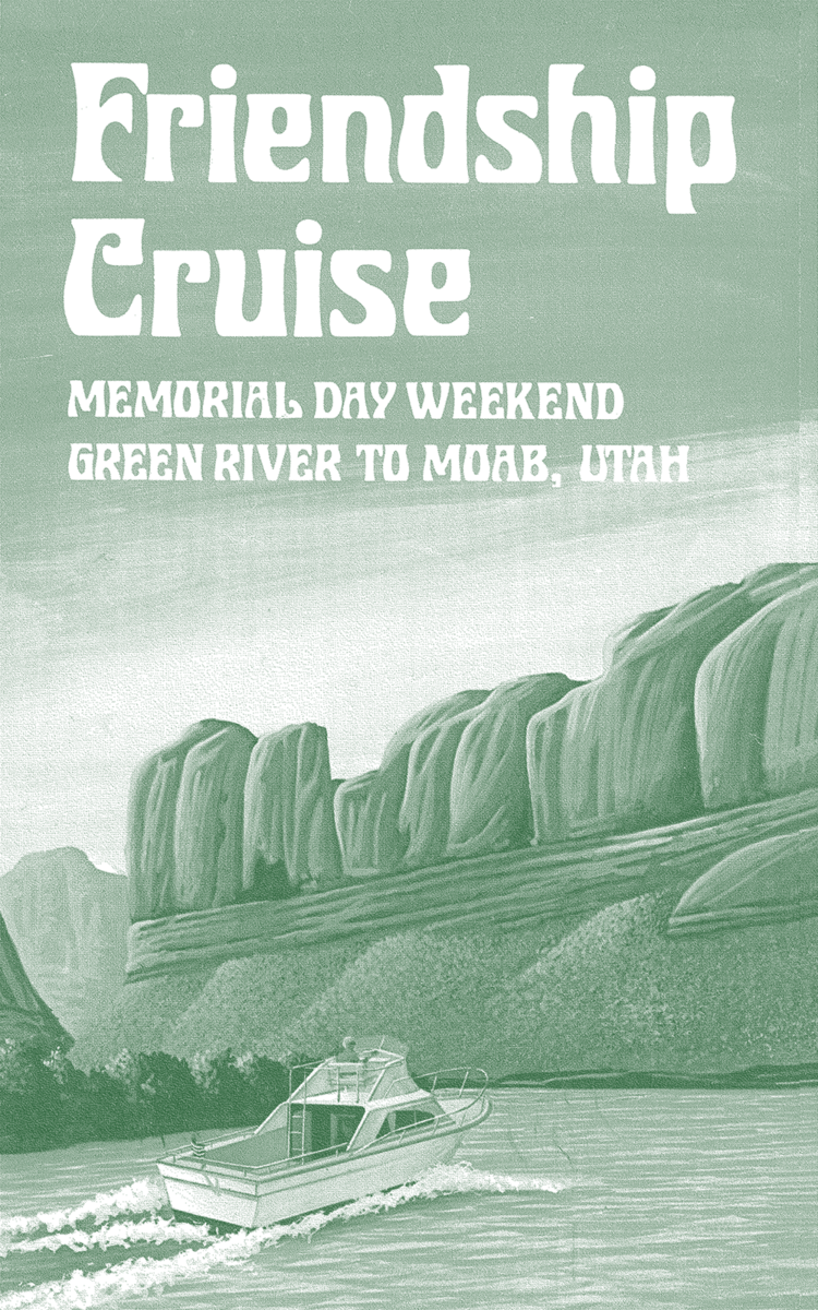 An advertisement for the Friendship Cruise.