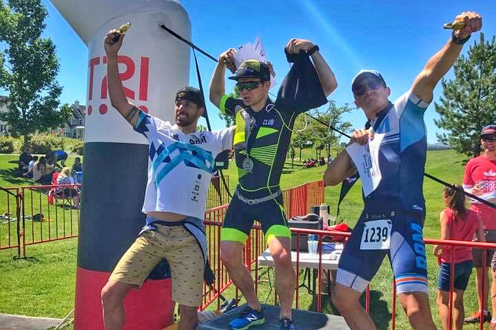 Strong showings from local tri clubs ensure a fun and competitive race.