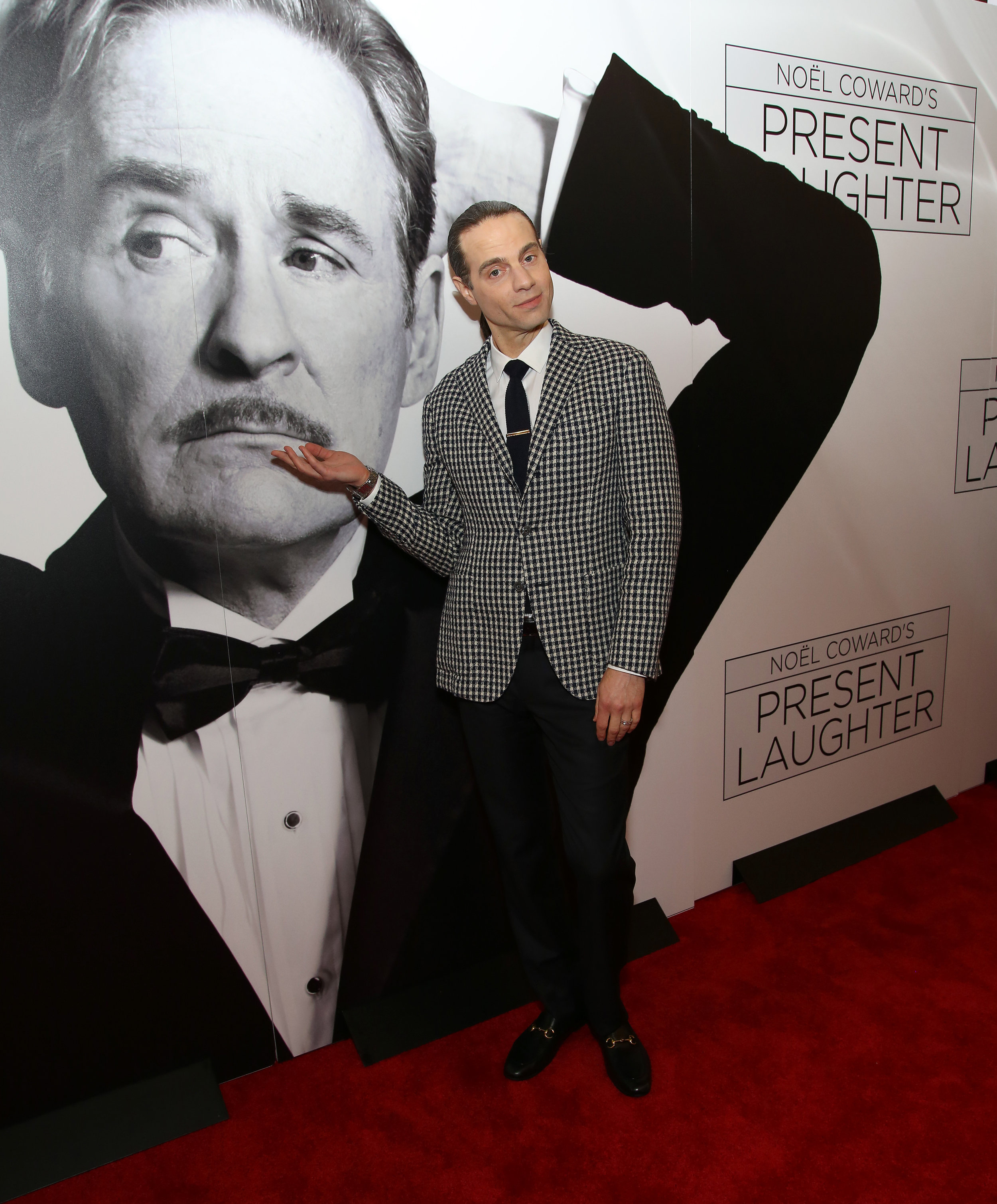 Present Laughter on Broadway Opening Night