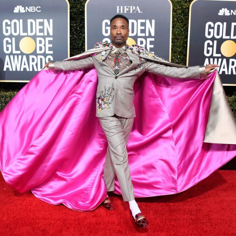 Billy Porter at the Golden Globe Styled by Sam Ratelle RRR Creative