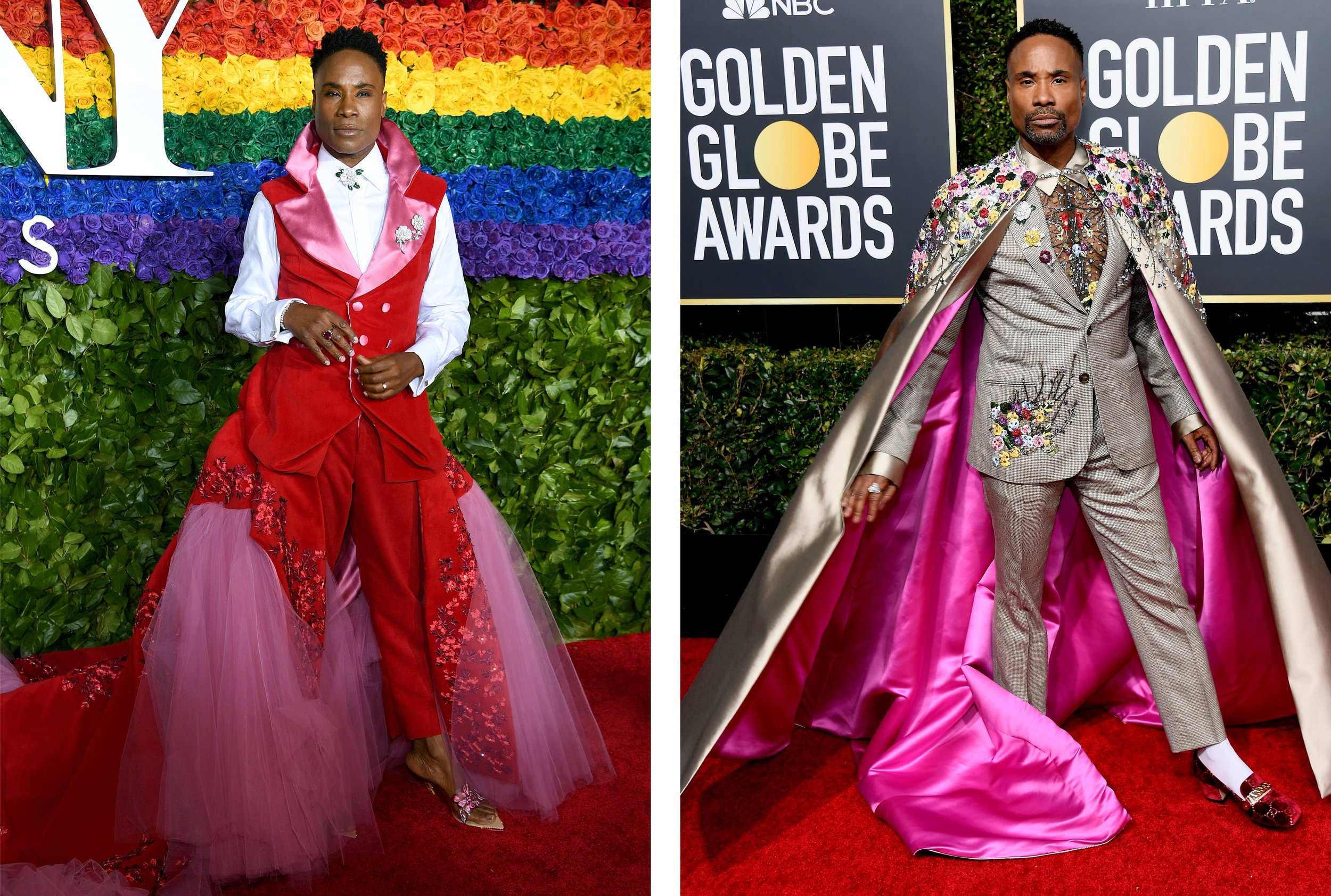 Billy Porter Tony Awards and Golden Globes