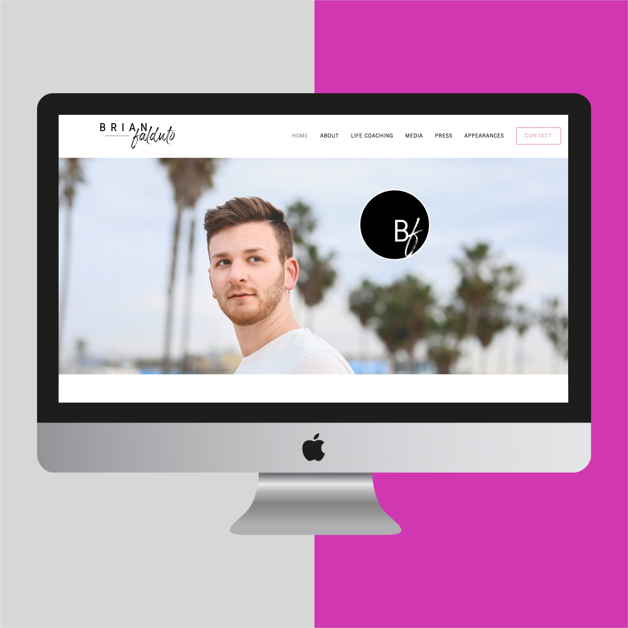 Brian Falduto Website