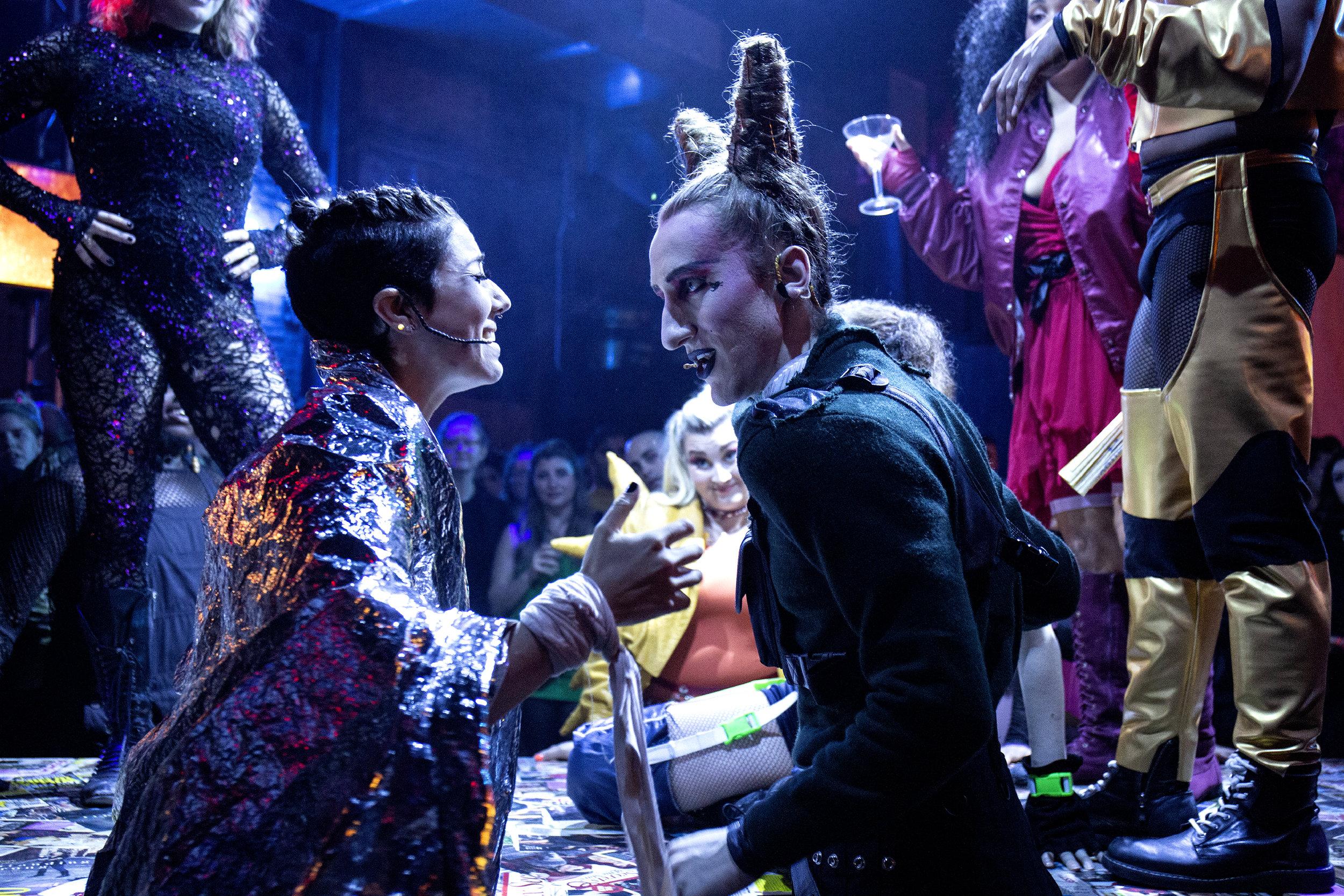 Kerri George as Constance Wilde and Mark Mauriello as Oscar Wilde Photo by Santiago Felipe.jpg