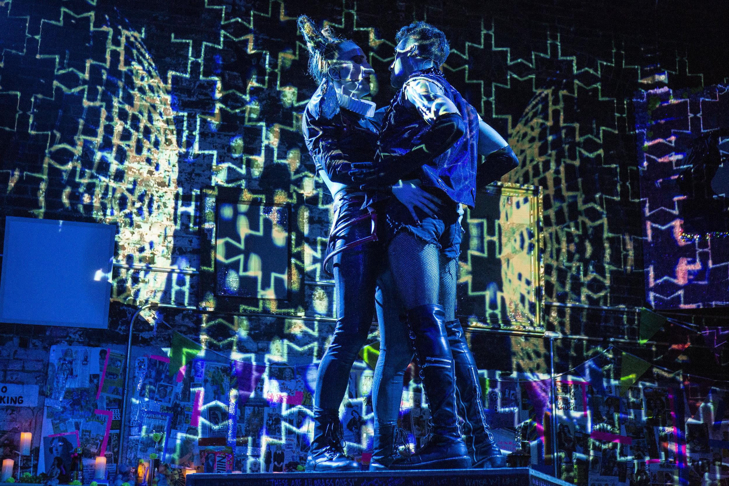 Mark Mauriello as Oscar Wilde and Brandon Alberto as Boise Photo by Santiago Felipe.jpg