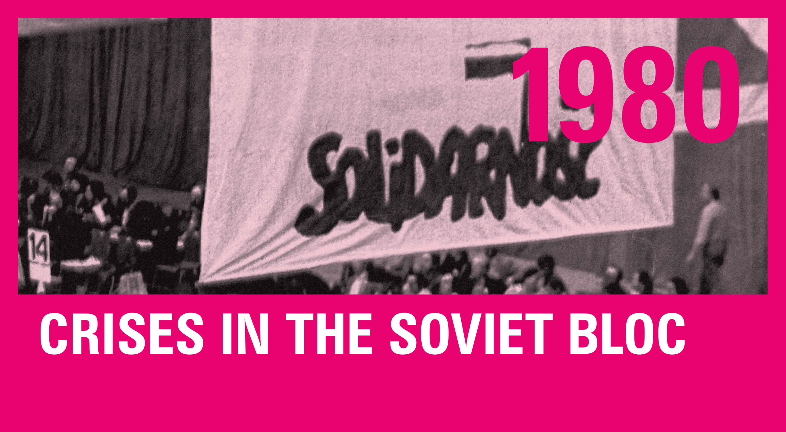 The Solidarity Labor Union meets for its first Congress in Gdansk in 1980.