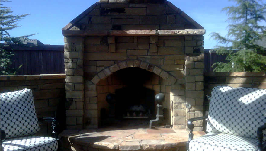 Copy of Outdoor Living • Fireplace